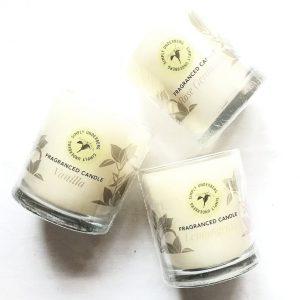 320ml Lemongrass Candle in a glass jar