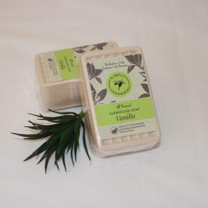 170g Handmade Vanilla Soap