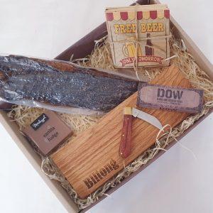 Beer and Biltong Munch Box