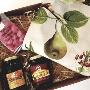 Pear Apron and Fruity Gift Box