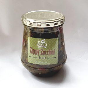 250ml Zippy Zucchini Relish